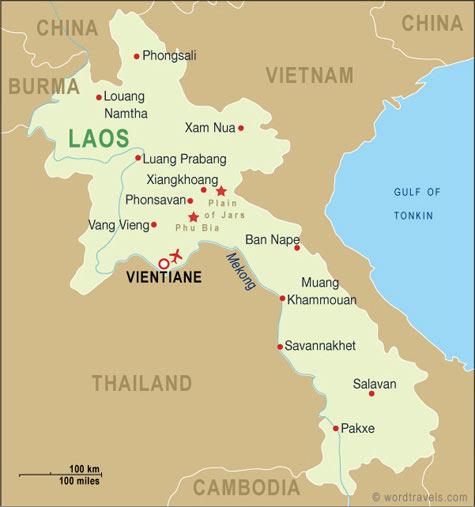 Laos_map