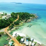 Sihanouk Vill Beach from Top