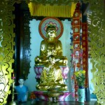 dans la pagode sac linh
