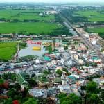 panorama de la ville Chau Doc
