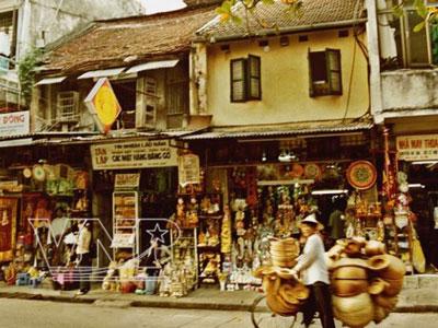 Rues anciennes Hanoi