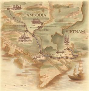 Croisiere Mekong