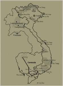 Sud vietnam et Cambodge