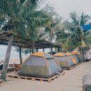 Le camping à la plage de Mui Ne